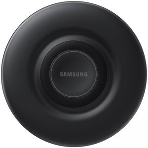 Samsung Wireless Charger Pad 9W, Compatible with Select Galaxy and Apple Devices EP-P3105TBEGUS