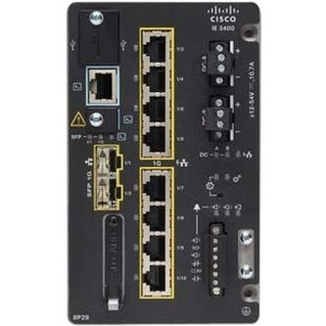 Cisco Catalyst Ethernet Switch IE-3400-8P2S-E