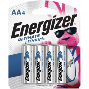 Energizer Ultimate Lithium AA Batteries L91SBP4CT EVEL91SBP4CT