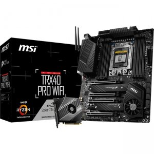 MSI Desktop Motherboard TRX40P TRX40 PRO WIFI