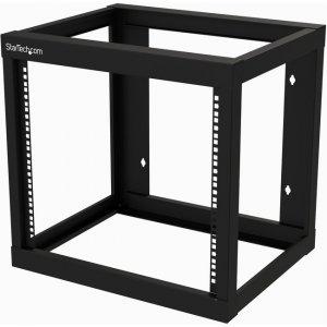 StarTech.com 9U Wall-mount Rack - Open Frame - 18 in. Deep RK919WALLO
