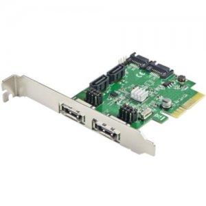 IMSourcing 4 Port SATA III or eSATA III PCI-e 2.0 x2 Card SD-PEX40054