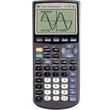 Texas Instruments Graphing Calculator 83PL/TBL/1L1/A TI-83 Plus