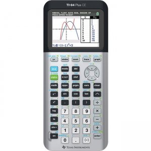 Texas Instruments Graphing Calculator 84PLCE/TBL/1L1/AC TI-84 Plus CE