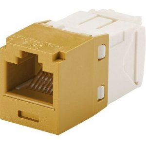 Panduit Mini-Com TX6A UTP Jack Module CJ6X88TGGD