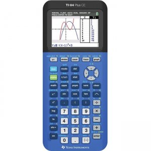 Texas Instruments Graphing Calculator 84PLCE/TBL/2L1/X TI-84 Plus CE