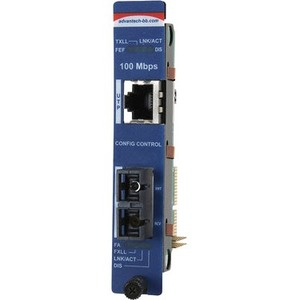 Advantech Slide-In Modular Media Converter 10/100Mbps to Fiber Series IMC-751-MM