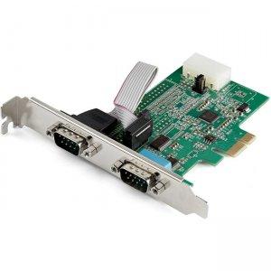 StarTech.com 2-Port PCI Express RS232 Serial Adapter Card - 16950 UART PEX2S953