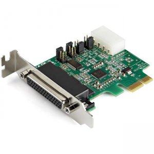 StarTech.com 4-Port PCI Express RS232 Serial Adapter Card - 16950 UART - Low Profile PEX4S953LP