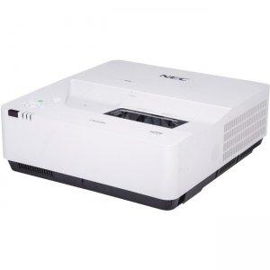 NEC Display 3,800 Lumen, WXGA, LCD, HLD LED Ultra Short Throw Projector NP-UM383WL