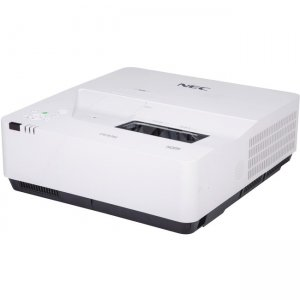 NEC Display 3,800 Lumen, WXGA, LCD, HLD LED Ultra Short Throw Projector w/ Wall Mount NP-UM383WL-WK