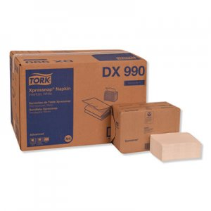 "Tork Xpressnap Interfold Dispenser Napkins, 2-Ply, 6.5"" x 8.5"", White, 6000/Carton TRKDX990 DX990"