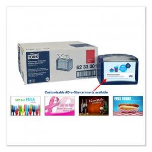 "Tork Xpressnap Tabletop Napkin Dispenser, 7.9"" x 5.9"" x 6.1"", Blue TRK6233001 6233001"