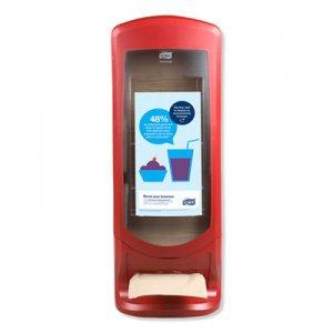Tork Xpressnap Stand Napkin Dispenser, 9 1/4 x 9 1/4 x 24 1/2, Red TRK6336000 6336000
