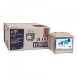 Tork Xpressnap Cafe Napkin Dispenser, 5.88 x 5.88 x 6.2, Granite, 4/Carton TRK31XRT 31XRT