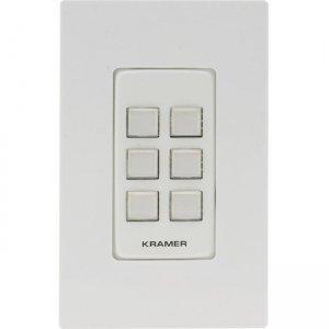 Kramer 6-button PoE and I/O Control Keypad 30-804921395 RC-306