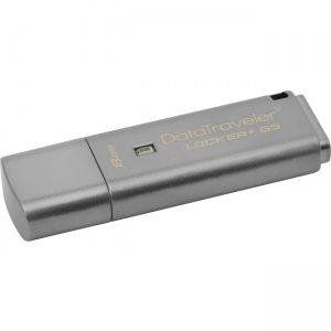 Kingston 8GB DataTraveler Locker+ G3 USB 3.0 Flash Drive DTLPG3/8GBCL