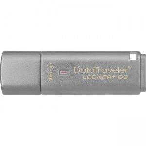 Kingston 16GB DataTraveler Locker+ G3 USB 3.0 Flash Drive DTLPG3/16GBCL
