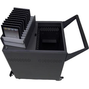 Datamation Systems Charging Security Cart for Chromebooks DS-GR-CB-S24-C