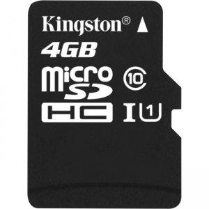 Kingston 4GB microSD High Capacity (microSDHC) Card - Class 10/UHS-I SDC10/4GBCP
