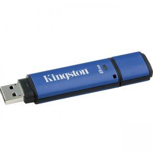 Kingston 8GB DataTraveler Vault Privacy 3.0 USB Flash Drive DTVP30/8GBCL