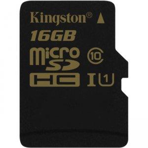 Kingston 16GB microSD High Capacity (microSDHC) Card SDCA10/16GBCP