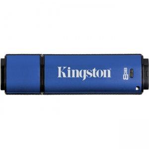 Kingston 8GB DataTraveler Vault Privacy 3.0 USB 3.0 Flash Drive DTVP30AV/8GBCL