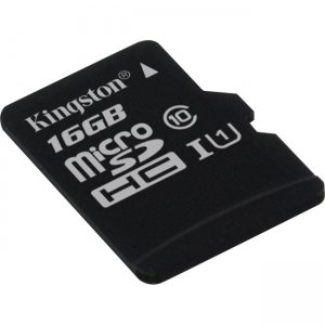 Kingston 16GB microSD High Capacity (microSDHC) Card SDC10/16GBCP