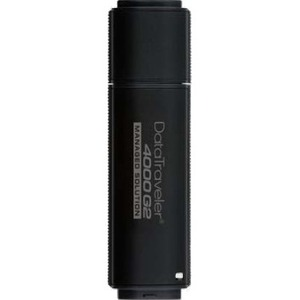 Kingston 16GB Flash Drive FIPS 140-2 Level 3 certified 100% 256-AES Encrypted DT4000G2/16GBCL