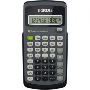 Texas Instruments Scientific Calculator 30XA/TBL/1L1/H TI-30Xa