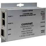 ComNet 2 Channel 10/100/1000 Mbps Ethernet Electrical To Optical Media Converter CNMC2+1SFP/M