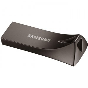 Samsung BAR Plus USB 3.1 Flash Drive 64GB Titan Grey MUF-64BE4/AM