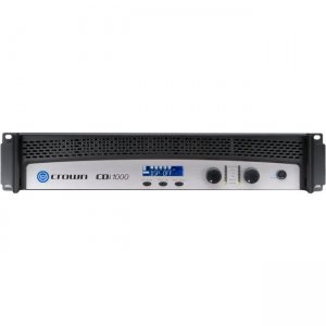 Crown Two-channel, 500W @ 4, 70V/140V Power Amplifier NCDI1000 1000