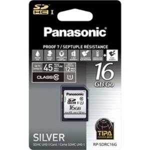 Panasonic Silver Series SDHC Card 16GB, Class 10 RP-SDRC16GAK