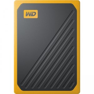 WD My Passport Go Portable SSD with Built-in USB Cable WDBMCG5000AYT-WESN WDBMCG5000AYT