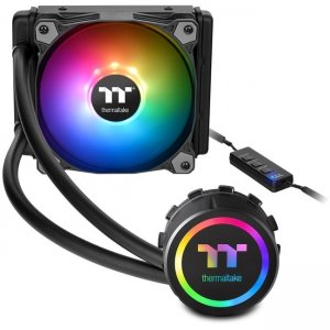 Thermaltake Water 3.0 120 ARGB Sync Cooling Fan/Radiator/Water Block CL-W232-PL12SW-B