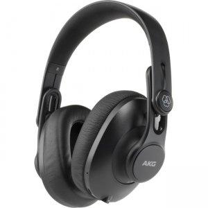AKG Over-Ear, Closed-Back, Foldable Studio Headphones with Bluetooth K361-BT