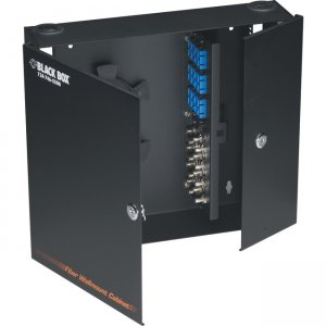 Black Box Wallmount Fiber Enclosure - Locking, 4-Slot JPM402A-R3