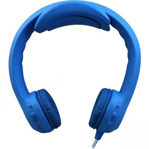 Hamilton Buhl Flex-PhonesXL Indestructible Headphone with 3.5mm Plug, Blue FLEX1