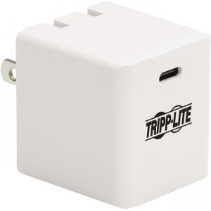 Tripp Lite 40W Compact USB-C Wall Charger - GaN Technology, USB-C Power Delivery 3.0 U280-W01-40C1