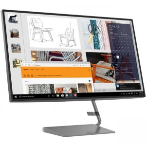 Lenovo Widescreen LCD Monitor 66A7GCC2US Q27h-10