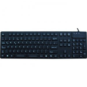 DSI Waterproof Industrial USB Keyboard IKB105 With IP68 Protection KB-JH-IKB105
