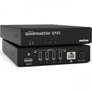 Matrox QuadHead2Go Q155 Multi-Monitor Controller Appliance Q2G-H4K