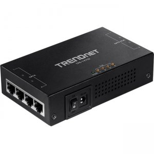 TRENDnet 65W 4-Port Gigabit PoE+ Injector TPE-147GI