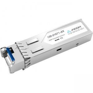 Axiom 1000BASE-BX40-D SFP Transceiver for Calix - 100-01671 (Downstream) 100-01671-AX