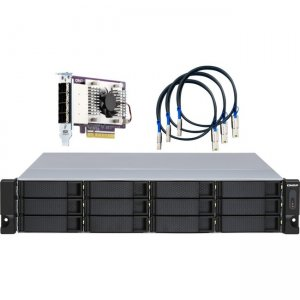 QNAP Drive Enclosure with Redundant Power Supply TL-R1200S-RP-US TL-R1200S-RP