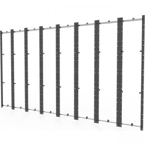Peerless-AV Flat Wall Mount for Absen Acclaim Series DS-LEDA27-8X8