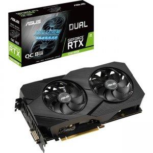 Asus Dual GeForce RTX 2060 SUPER EVO V2 OC Edition Graphic Card DUAL-RTX2060S-O8G-EVO-V2