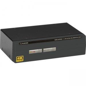 Black Box 4K60 DisplayPort Single-Head KVM Switch - 2-Port KV6202A-R2