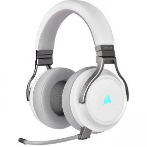 Corsair VIRTUOSO RGB Wireless High-Fidelity Gaming Headset - White CA-9011186-NA